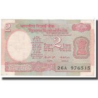 Billet, Inde, 2 Rupees, 1976, KM:79a, TTB - Inde