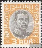 Island D33 MNH 1920 Re Christian X. Francobolli - 1918-1944 Unabhängige Verwaltung