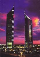 DUBAI / VUE UNIQUE - BUILDING LA NUIT - Dubai
