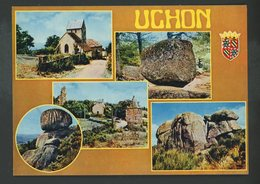 CPM -71- UCHON - MULTI-VUES - - France