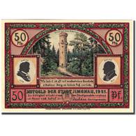 Billet, Allemagne, Ilmenau, 50 Pfennig, école, 1921, SPL, Mehl:643.4 - Germany