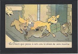 CPA RABIER Benjamin Humour Humor Non Circulé Publicité Publicitaire Chocolat Lombart - Rabier, B.