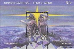 Finland - Aland Block5 (complete.issue.) Unmounted Mint / Never Hinged 2004 Nordic Mythen - Aland