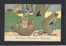 CPA RABIER Benjamin Humour Humor Non Circulé Publicité Publicitaire Chocolat Lombart Souris Mouse Rat - Rabier, B.
