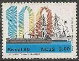 LSJP BRAZIL CENTENARY NAVIGATION COMPANY LLOYD 1990 - Brazil