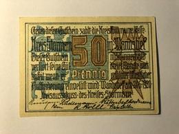 Allemagne Notgeld Stormarn 50 Pfennig - [ 3] 1918-1933 : Weimar Republic