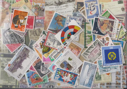 Western Europe 100 Different  Special Stamps And Large - Europe (Other)