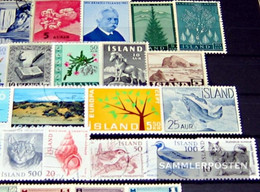 Iceland 25 Different Stamps - Iceland