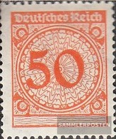 German Empire 342 With Hinge 1923 Rentenpfennig - Ungebraucht