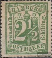 Hamburg 22 (complete.issue.) Unused 1867 Hamburg Coat Of Arms - Hamburg