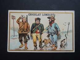 Chromo FARRADESCHE. Pub. Chocolat LOMBART.  La CHASSE Est Ouverte. - Unclassified