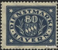 Bavière D54 Neuf Avec Gomme Originale 1920 Adieu La Série - Bayern