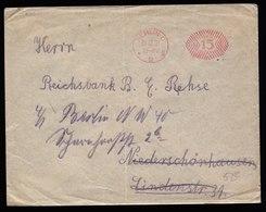 A5700) DR Infla Brief Postfreistempel Berlin C2 15 Pfg. Vom 31.12.21 !!! - Deutschland