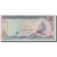 Billet, Maldives, 5 Rufiyaa, 2000, KM:18b, TB - Maldives