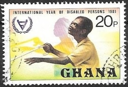 1982 Disabled Persons, Used - Ghana (1957-...)