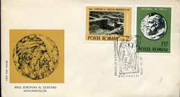 40017 Romania  Fdc  1975 Archeology,  European Year Of Monuments Protection - Archaeology