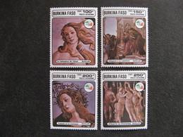 BURKINA FASO: TB  Série PA N° 313 Au N° 316, Neufs XX. - Burkina Faso (1984-...)
