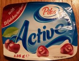 Yogurt Cherry - Milk Tops (Milk Lids)