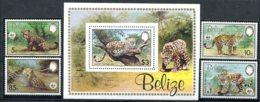 Belize                650/653  **  Jaguar  +  Bloc  50 ** - Belize (1973-...)