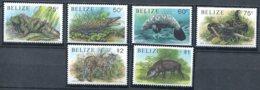 Belize                950/955 **    Faune - Belize (1973-...)
