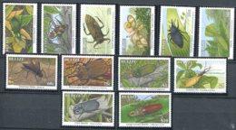 Belize              1023/1034  **      Insectes - Belize (1973-...)