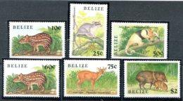 Belize            904/908  ** + 913 **  Faune - Belize (1973-...)