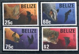 Belize            1014/1017  **     Chauve-souris - Belize (1973-...)