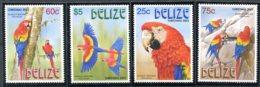 Belize           1169/1172  **    Oiseaux - Belize (1973-...)