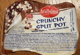 Vanilla Yogurt Crunchy Choco Balls - Milk Tops (Milk Lids)