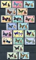 Belize           335/350  **  Papillons      + 2 Valeurs Avec Surcharges - Belize (1973-...)