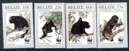 Belize           1083/1086  **    Singes - Belize (1973-...)