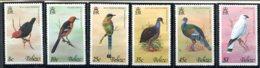 Belize              383/388  **     Oiseaux - Belize (1973-...)