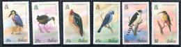 Belize              397/402  **   Oiseaux - Belize (1973-...)