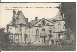 CHATEAU D' HERMONVILLE - Oorlog 1914-18