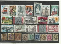 Lot De 26 Timbres De Belgique Années Diverses. - Stamps
