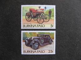 BURKINA FASO: TB Paire N° 645 Et N° 646 , Neufs XX. - Burkina Faso (1984-...)