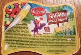 Yogurt Crunchy Choco Balls Parrot - Milk Tops (Milk Lids)