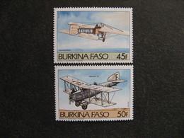 BURKINA FASO: TB Paire N° 647 Et N° 648 , Neufs XX. - Burkina Faso (1984-...)
