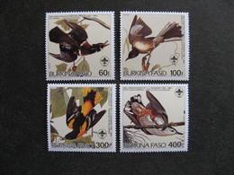 BURKINA FASO: TB  Série N° 649 Au N° 652, Neufs XX. - Burkina Faso (1984-...)