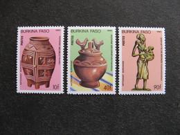 BURKINA FASO: TB  Série N° 682 Au N° 684, Neufs XX. - Burkina Faso (1984-...)