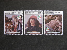 BURKINA FASO: TB  Série N° 685 Au N° 687, Neufs XX. - Burkina Faso (1984-...)