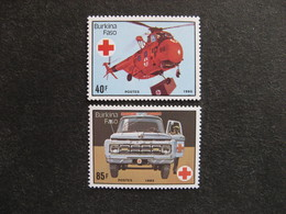 BURKINA FASO: TB Paire N° 688 Et N° 689 , Neufs XX. - Burkina Faso (1984-...)