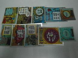 Portugal 275 Raspadinhas Todas Diferentes (oferta De Metade Dos Portes) - Billetes De Lotería