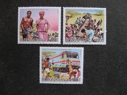 BURKINA FASO: TB  Série N° 690 Au N° 692, Neufs XX. - Burkina Faso (1984-...)