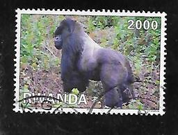 TIMBRE OBLITERE DU RWANDA DE 2010 N° MICHEL 1484 - Rwanda