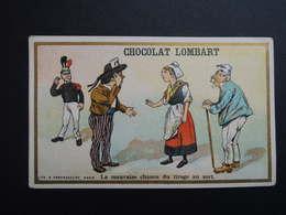 Chromo FARRADESCHE. Pub. Chocolat LOMBART.  La Mauvaise Chance Du Tirage Au Sort. Conscrit. Conscription. - Unclassified