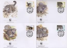 Ref. 23264 * NEW *  - TAJIKISTAN . 1996. PALLAS'S CAT. GATO DE PALLAS - Tayikistán