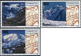 Ref. 29166 * NEW *  - TAJIKISTAN . 1997. PICOS FAMOSOS - Tayikistán