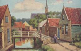 Uitgave Rijwielenfavriek GRUNO Winschoten - Aquarel [AA16-461 - Winschoten