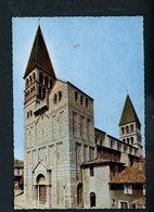 CPM -71- TOURNUS - EGLISE St PHILIBERT - LA FAÇADE - France